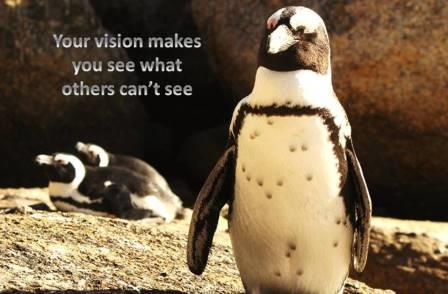 leader has vision