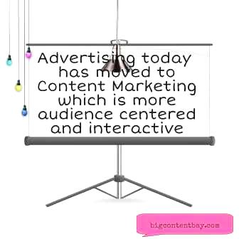 Content Marketing Replaces Advertising