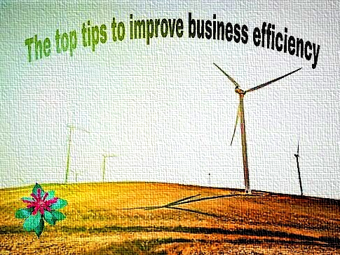 ways to improve business efficiency