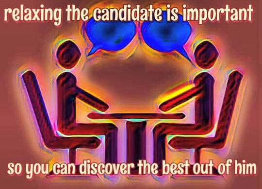 how to conduct an interview