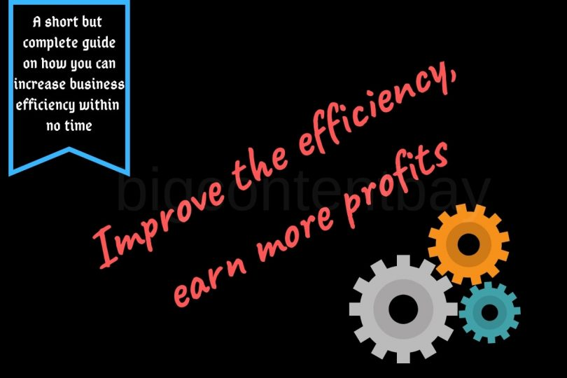 technology to improve business efficiency