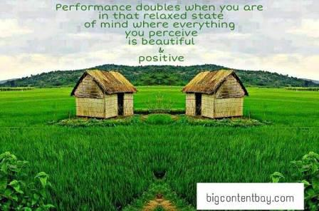 Performance and Positivity