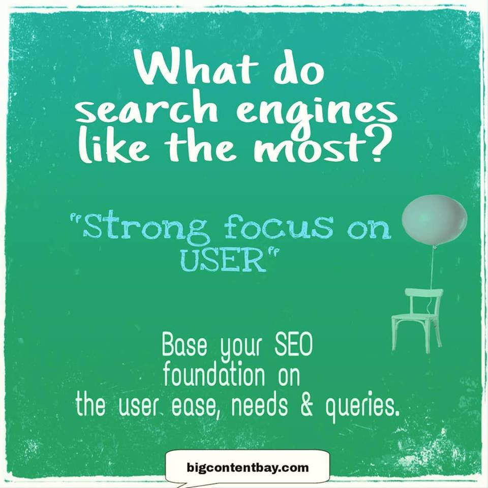 Focus Of Search Engines