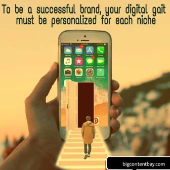 Personalize your brand presence