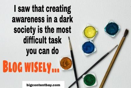 Blog Wisely