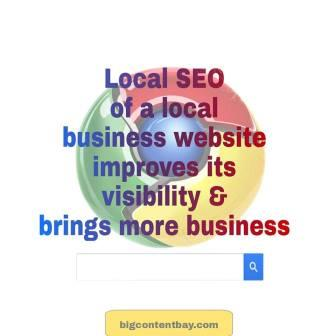 Local SEO Improves Visibility