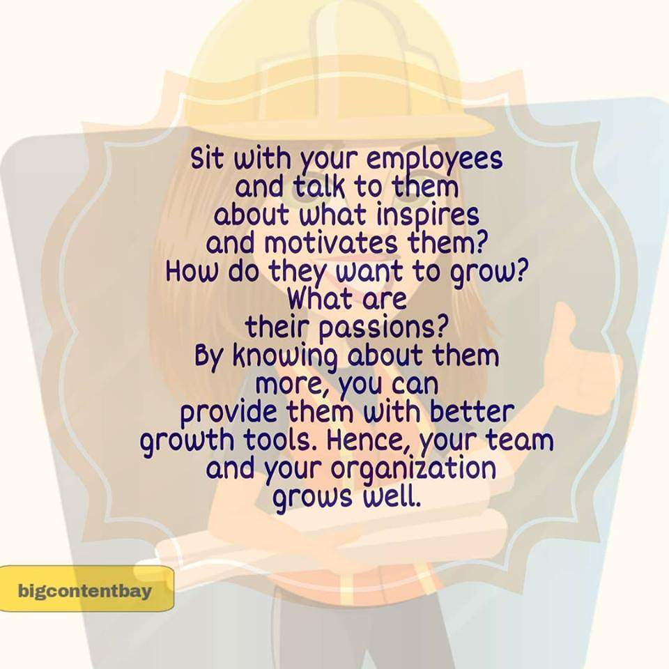 Talking With Employees