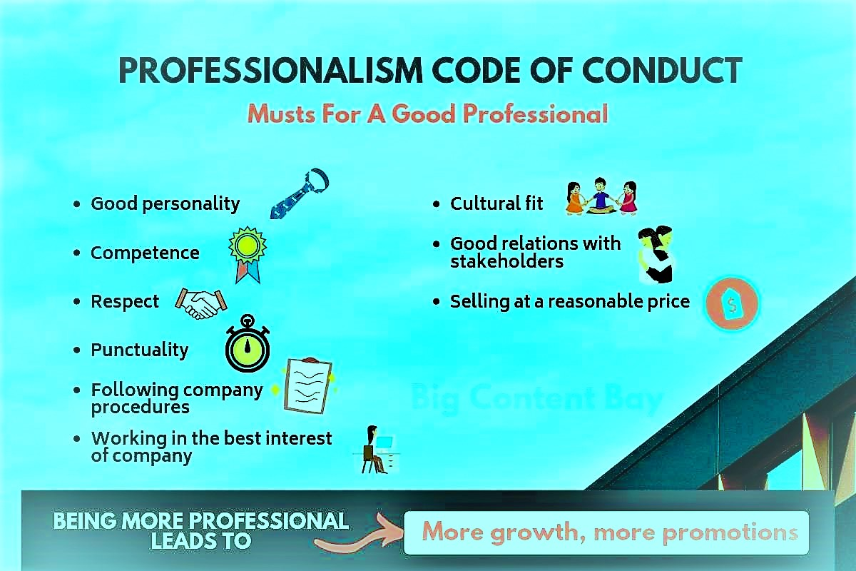 professionalism code of conduct