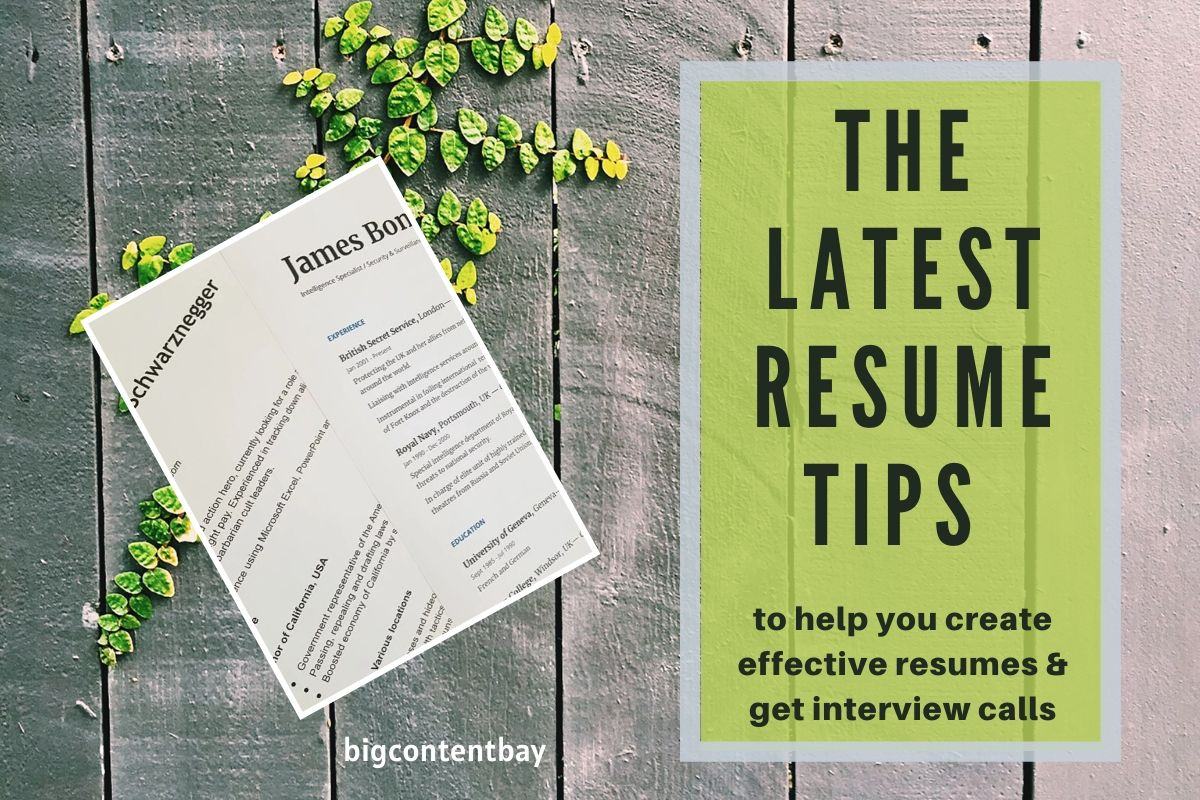 best resume tips and tricks