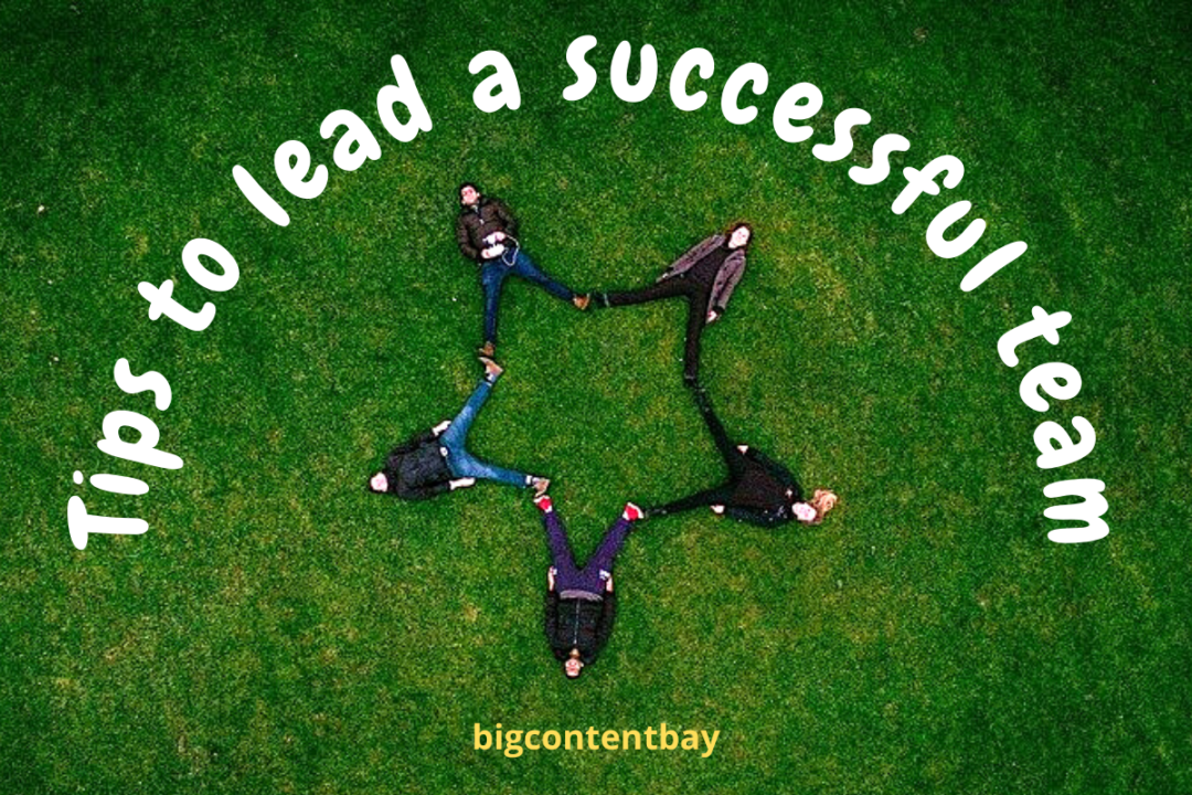 how to lead a successful team?